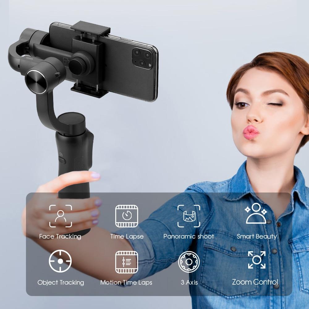 Tërheqja dhe zmadhimi i fokusit të stabilizuesit gimbal dore - Kamera dhe foto - Foto 2