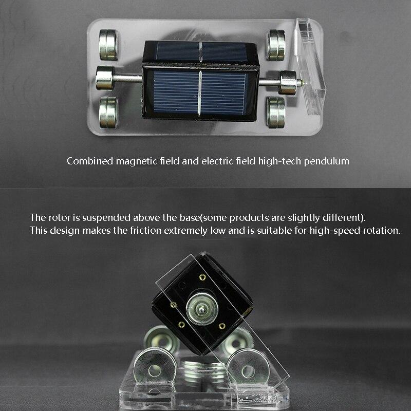 Solar horizontal quatro lado levitação magnética mendocino