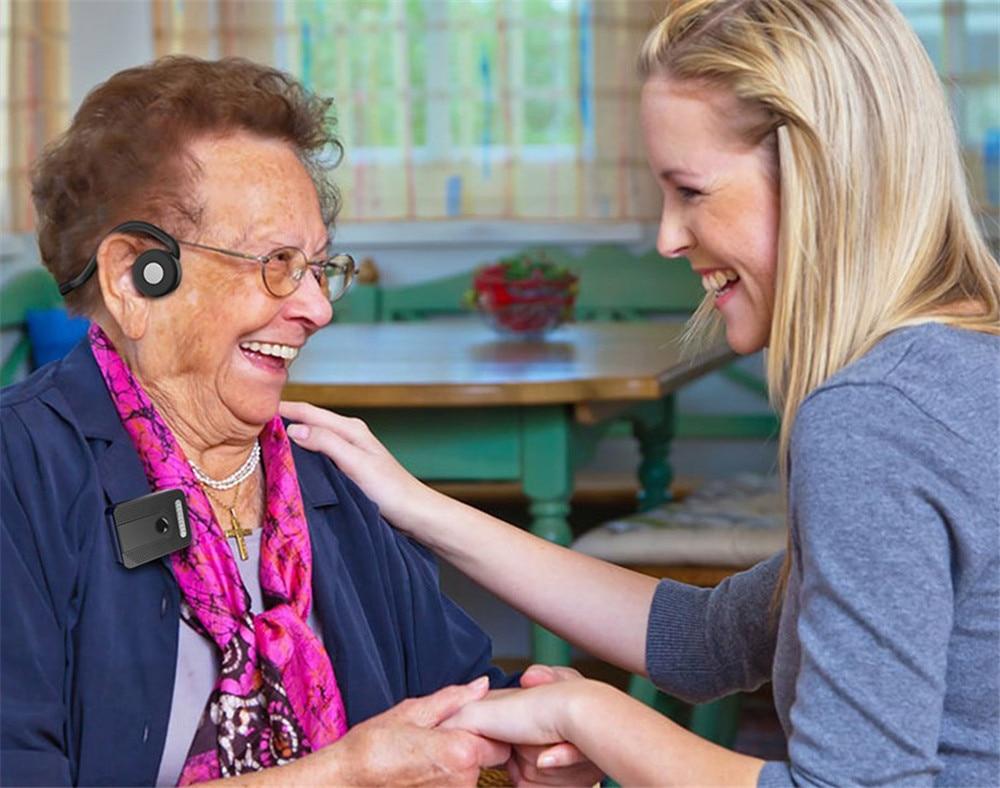 surdez próteses auditivas para idosos moderado