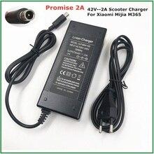 전기 스쿠터 충전기 42V 2A 어댑터 샤오미 Mijia M365 Ninebot Es1 Es2 전기 스쿠터 액세서리 배터리 충전기
