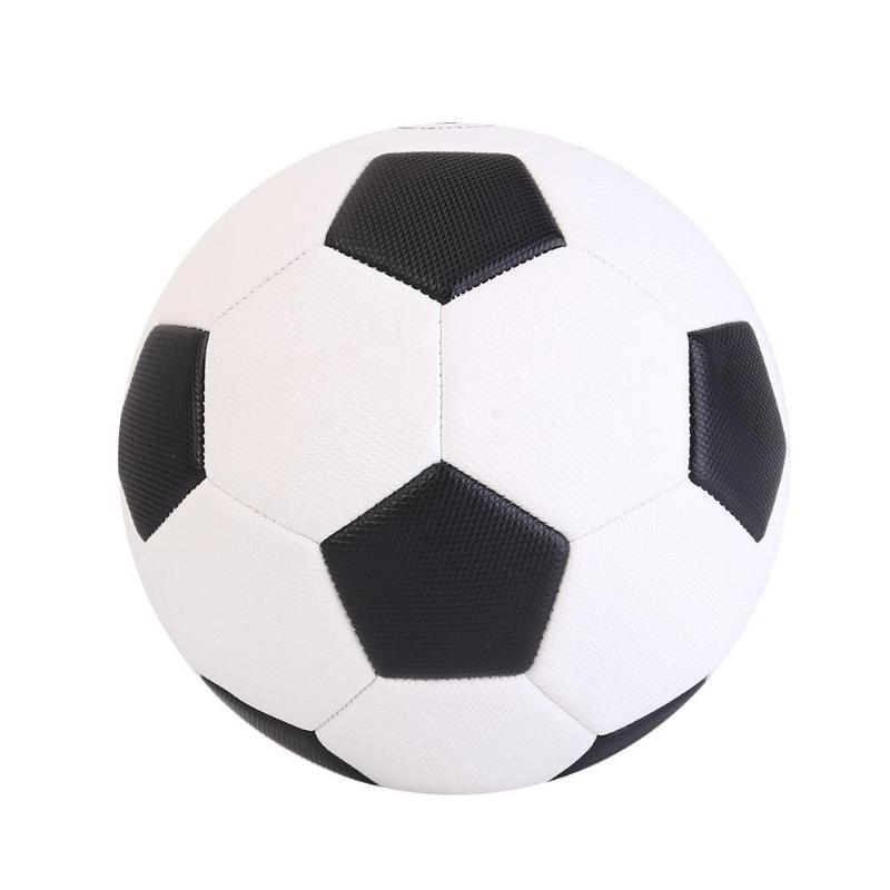 Size 4/Size 5 Black White Soccer PU Children Match Training Football Ball