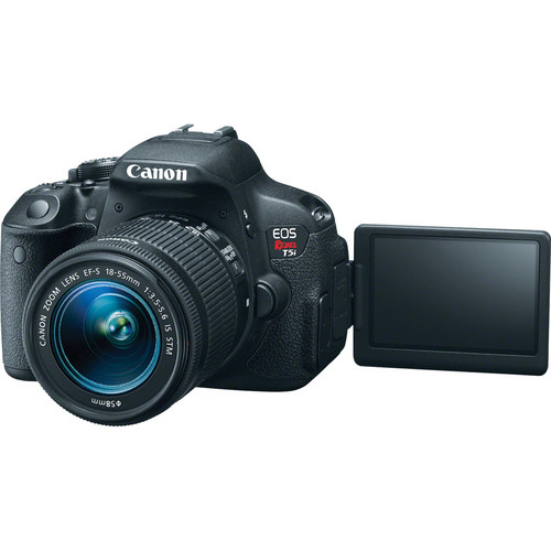 Image 3 - Canon 700D / Rebel T5i DSLR Digital Camera with 18 55mm Lens  18 MP   Full HD 1080p Video  Vari Angle Touchscreen (New)