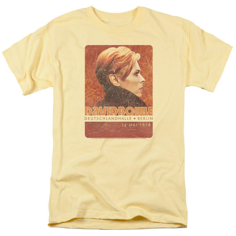 David Bowie Logo Licensed Adult T Shirt