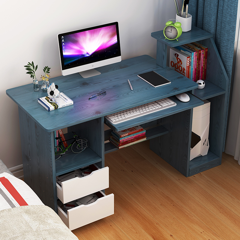 Computer Desk, Desk, Household Simple Desk, Simple Modern Writing Desk, Bedroom Office Desk, Economic Small Book Desk