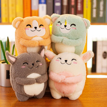25 cm Cute Cartoon Small Mouse Doll Plush Toy Stuffed Animal Creative Children Toys Girls Gift