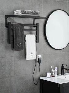 Rack Shelf Warm-Towel Carbon-Fiber Electric-Heating Thermostatic Intelligent Household