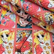 Cloth Bullet-Texture Liverpool-Fabric DIY Cartoon-Printed for by Half-Yard/1yc10283 50--145cm