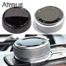 Coperchio pomello multimediale cristallo/ceramica coperchio pomello pulsante multimediale auto per Mini Cooper accessori F55 F56 F54 F57 F60 coupé s