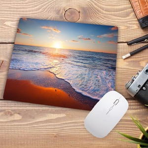 Image 4 - Big Promotion Print Rubber Mousepads for Beach and starfish Mice Mat DIY Design Computer Gaming Mouse Pad 22X18CM