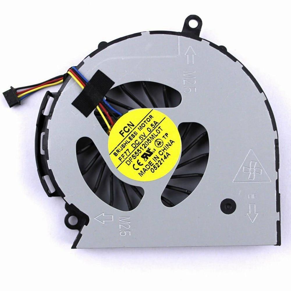 NEW laptop fan FOR HP Pavilion 14 15 14-D 15-D 240 g2 250 g2 747241-001 747242-001 747266-001 laptop CPU cooling fan cooler(China)