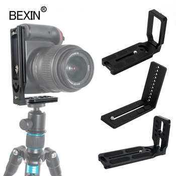 Vertical Shot L Plate Dslr Camera Quick Release L Plate Mount Bracket For Canon Nikon Sony Camera Arca Swiss Tripod Ball Head smallrig quick release l plate l bracket for canon eos 6d camera vertical shooting bracket w arca style base side plate 2408