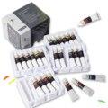 Pintura acrílica tubos de 24 cores mesa lollolore conjunto 22ml com caixa de armazenamento, pigmentos ricos, não se agitando, pinturas não tóxicas para artista