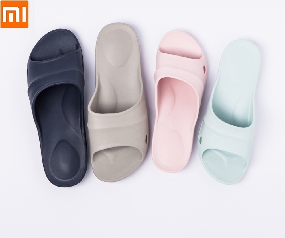 Xiaomi One Cloud Lightweight Bathroom Slippers Men Women High Elastic Wear Soft And Comfortable Home Non-slip Flip Flop