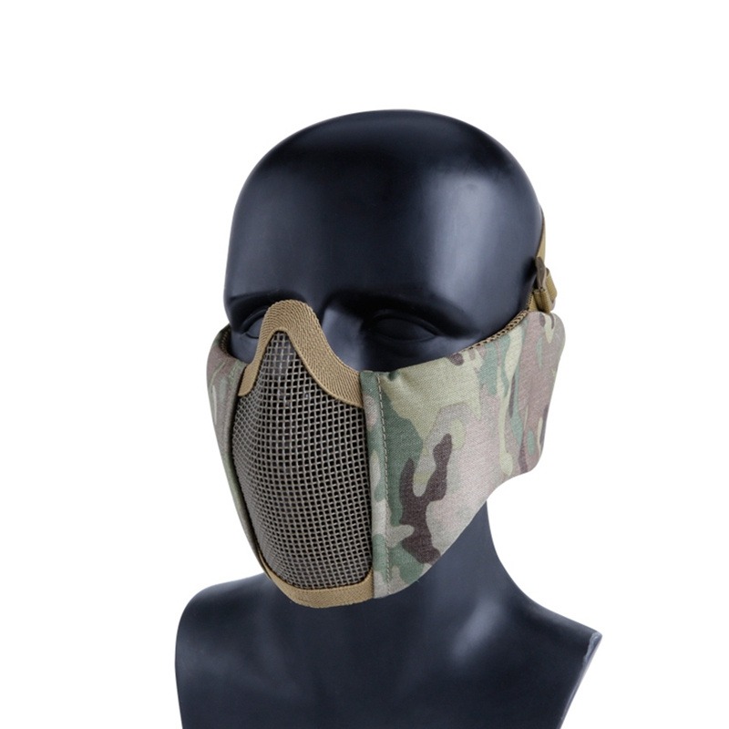 Tactical Hunting Masks Ear Protection Airsoft Paintball Military Masks Impact Resistance Shooting Tactical Masks