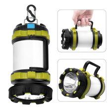 8000 Lumen LED Rechargeable PAR USB Torche Lanterne DE Camping Résistant À L'eau de Recherche Extérieure Lampe de Poche Pour La chasse aux Poissons Projecteur Torche
