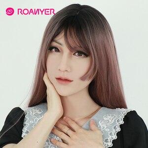 Image 3 - Roanyer May Masken Crossdresser Shemale Masken with Realistic Skin Silicone Masken for Transgender Male Drag Queen Cosplay