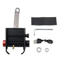 3500MA 5V 1.5A вращающийся держатель для мобильного телефона USB зарядка gps навигационный кронштейн установка зеркала для мотоцикла велосипеда Велоспорт