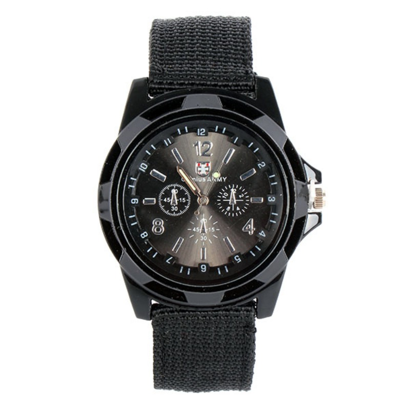 Sport Quartz Watch Men Nylon Band Army Men's Sport Military Quartz Watches Wrist Watches Men Watch Relogio Masculino