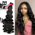 RucyCat волнистые пряди 36 38 40 дюймов в наличии индийские волосы 100% человеческие волосы пряди без выпадений петель мягкий Волосы Remy 30 дюймов Пря...