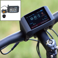 24 48V E bike Display Cycling LCD Display Compatible with Bafang BBSHD BBS03 02 01 Convenient IP65 Waterproof Upgrade Parts