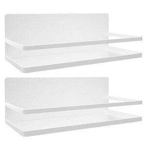 2 упаковки Магнитная стойка для специй для холодильника полки для холодильника для хранения специй для кухонного органайзера простая в исп...