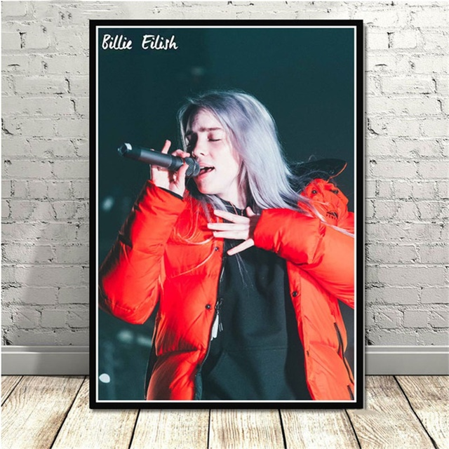 BILLIE EILISH WALL POSTER (18 VARIAN)