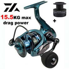 Spinning Reel Gear Ratio Double-Spool Max-Drag High-Quality High-Speed 14 1BB New