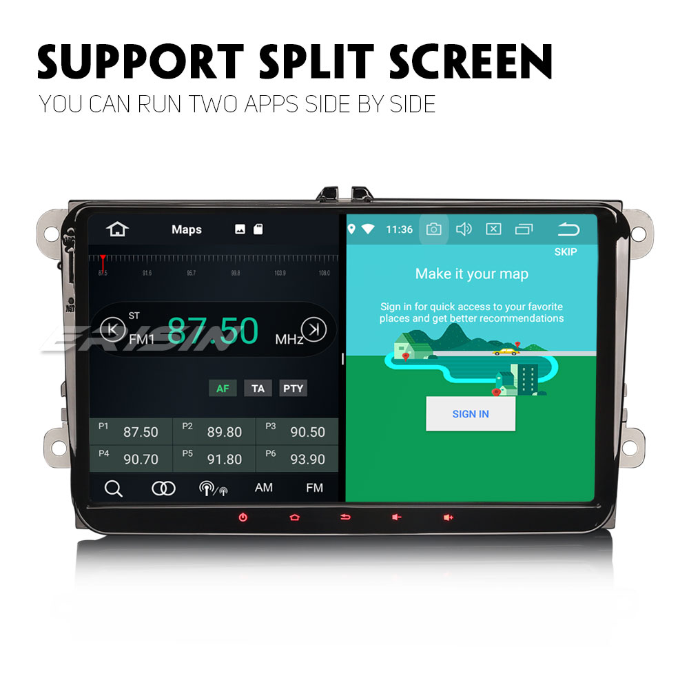 Image 3 - 7791 Android 9.0 Car Stereo for VW Golf 5 6 Touran T5 Touran Skoda TPMS WIFI Autoradio Multimedia player CanbusCar Multimedia Player   -