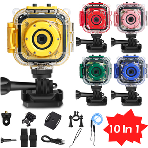 Kids Sports Camera Toy Waterproof Digital Action Camera Video Underwater Camcorder Diving Camera Motion Cam Boy Girl Toys Gift