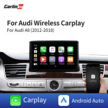 Decodificador 2.0 Para Audi A8 3 Carlinkit G/3G + Interface MMI 2012-2018 Multimídia Sem Fio Da Apple carplay/Android Auto Kit Retrofit(China)