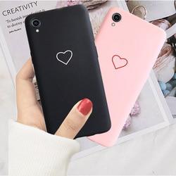 На Алиэкспресс купить чехол для смартфона silicone soft case for vivo y91 y93 y95 y91c y17 y53 y55 y66 y67 y69 y71 y71s y71i y81 y83 y83 pro z5x love heart back cover