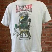 Vintage Alice In Chains concierto Tour 1993 camiseta tamaño moda estilo clásico camiseta