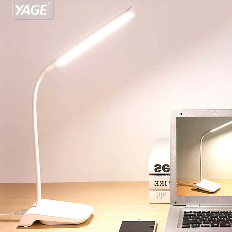 Yage Gooseneck Wireless Table Lamp Reading Light Usb Clip 22 Led Desk Lamp Touch Lamp Study Dimming Desk Light Flexo Lamps Table Lamp With Clip Gooseneck Lampdesk Clip Aliexpress