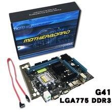 цена на Professional Gigabyte Motherboard G41 Desktop Computer Motherboard DDR3 Memory LGA 775 Support Dual Core Quad Core CPU