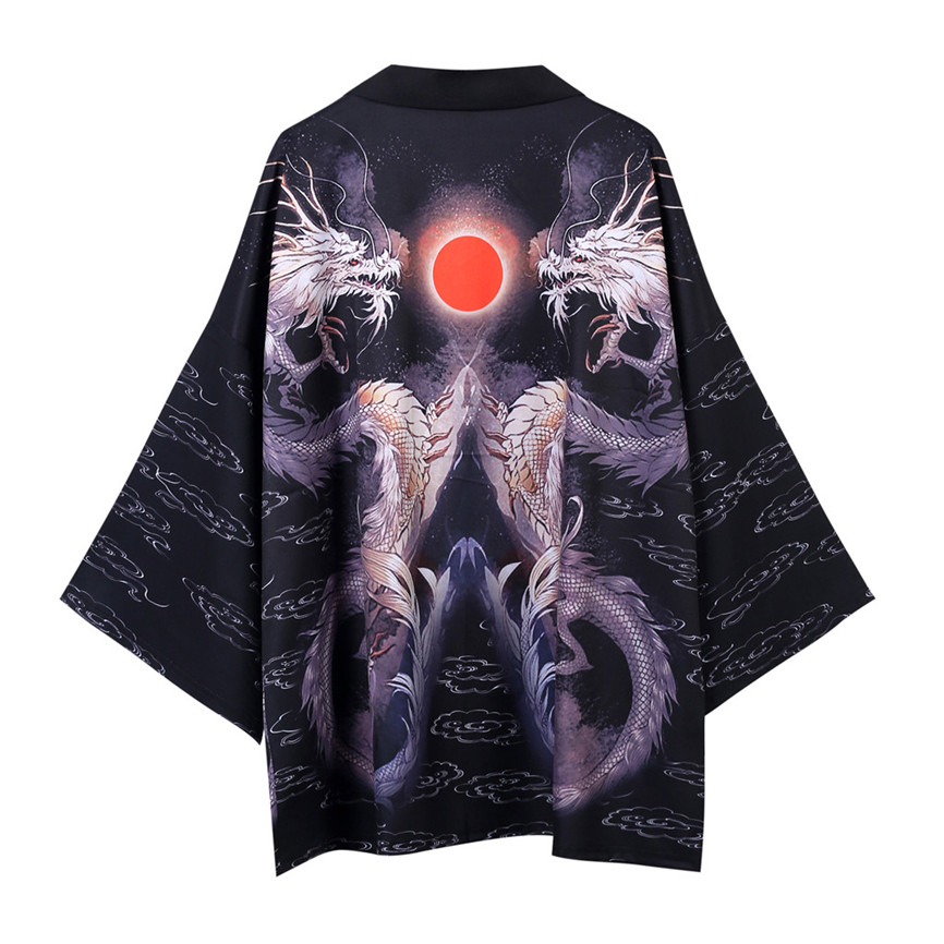 H247e8eb93f314ab2ac29c654a94773e4X Men's Windbreaker Coat Autumn Long Sleeve Lovers Fashion Retro Robe Loose National Print Creative Top Outwear Plus Size M-2XL A3