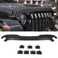 Für Jeep Wrangler JL Auto Hood Beschützer Trail Rüstung Haube Stein Schutz Matt Schwarz-in Styling-Formen aus Kraftfahrzeuge und Motorräder bei