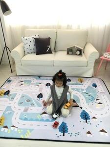 Play-Mat Carpet Baby Children Velvet No Non-Slip Thickness 150--200cm 60--78.7in