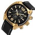 SKONE мужские модные повседневные спортивные часы  мужские кварцевые часы  мужские часы с кожаным ремешком  армейские военные наручные часы  ...