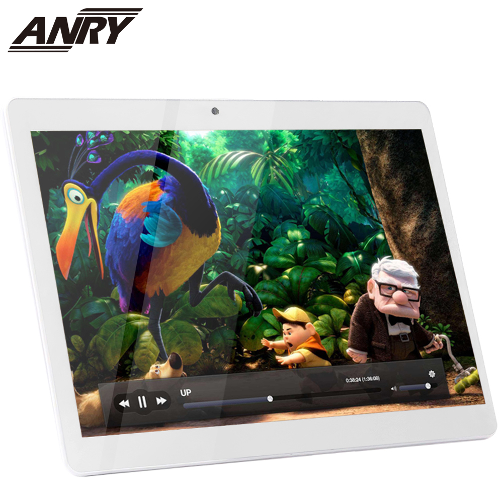 ANRY 10 Inch Tablets Android 7.0 8 Core 64GB Dual Camera Dual SIM Tablet PC 1280*800 WIFI OTG GPS Bluetooth Phone 4G The Tablet