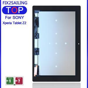 10.1 para o Sony Xperia Tablet Z2 SGP511 SGP512 SGP521 SGP541 Sensores de LCD Screen Display Toque Digitador Assembléia Substituição