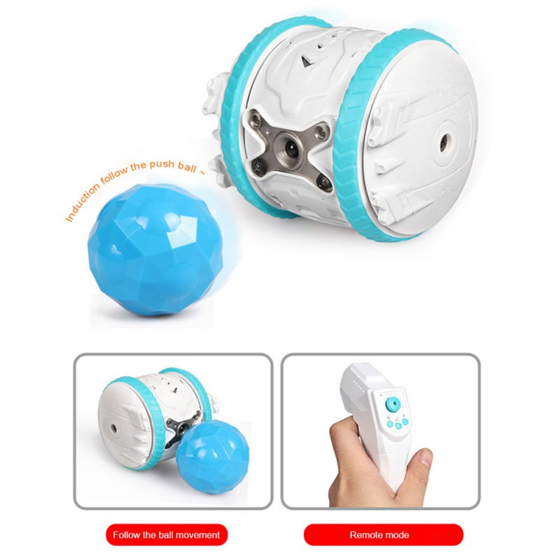 Rechargeable and Rolling Smart Pet Toys and Smart Robot Toys With Remote Control 1