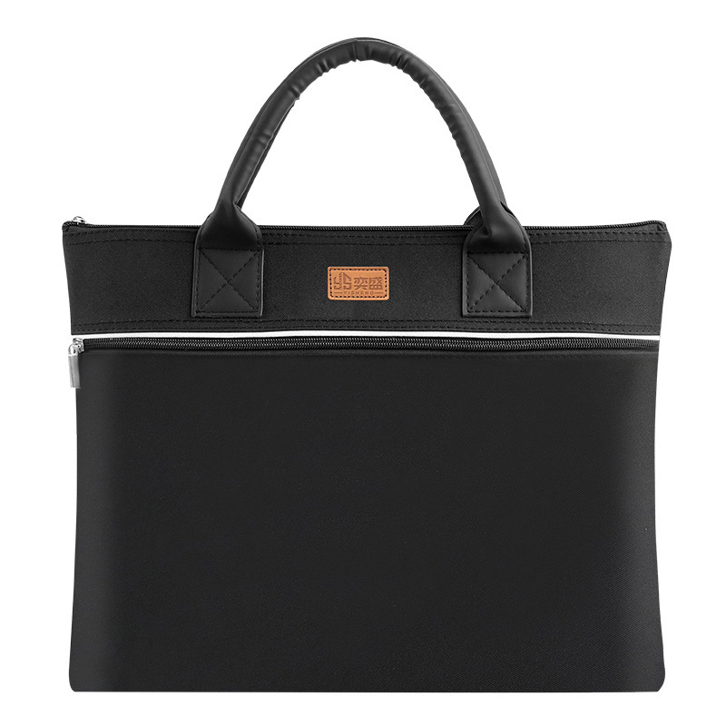 New Office Meeting Envelope To Portable Oxford Cloth Zipper Package Custom Men's Business Briefcase Sac Femme Office Bag