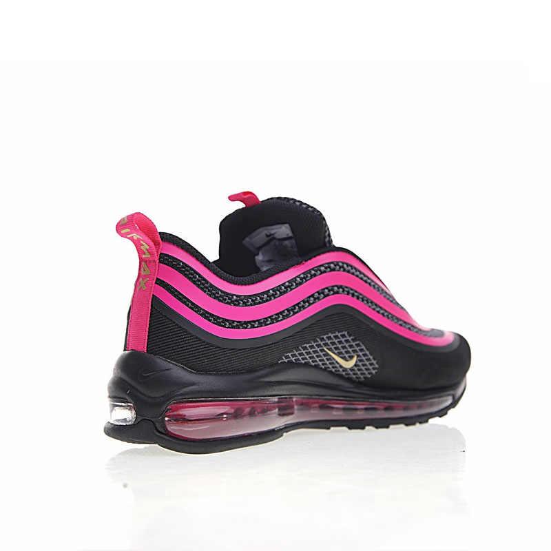 Original autêntico nike air max 97 og feminino tênis de corrida clássico moda esportes ao ar livre sapatos de absorção de choque 917999-002