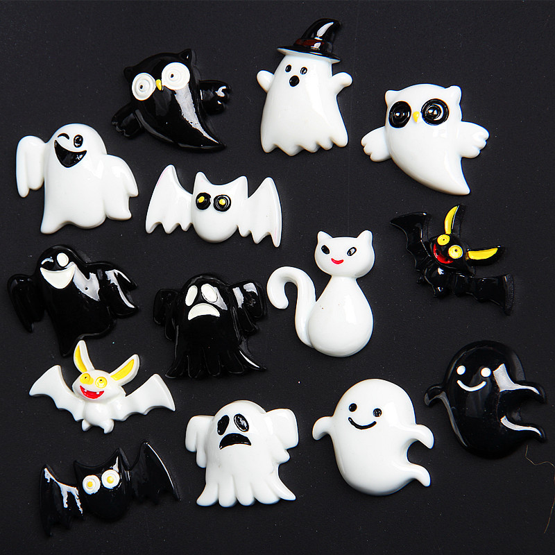 Slime charms New Halloween Animal Addition Slime Filler for Slime Polymer Addition Slime Accessories Toy Model Tool for Kids Toys 2