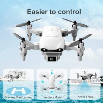 New V9 Mini Drone 4k profession HD Wide Angle Camera 1080P WiFi fpv Drone Dual Camera Height Keep Drones Camera Helicopter Toys 4