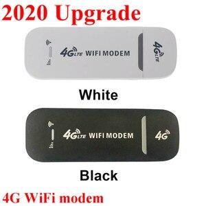 2020 4G LTE USB Modem Network Adapter With WiFi Hotspot SIM Card 4G Wireless Router For Win XP Vista 7/10 Mac 10.4 IOS fast ship
