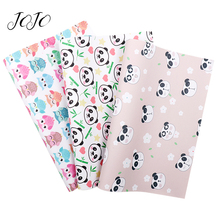 JOJO BOWS 22*30cm 1pc Faux Synthetic Leather Fabric For Needlework Owl