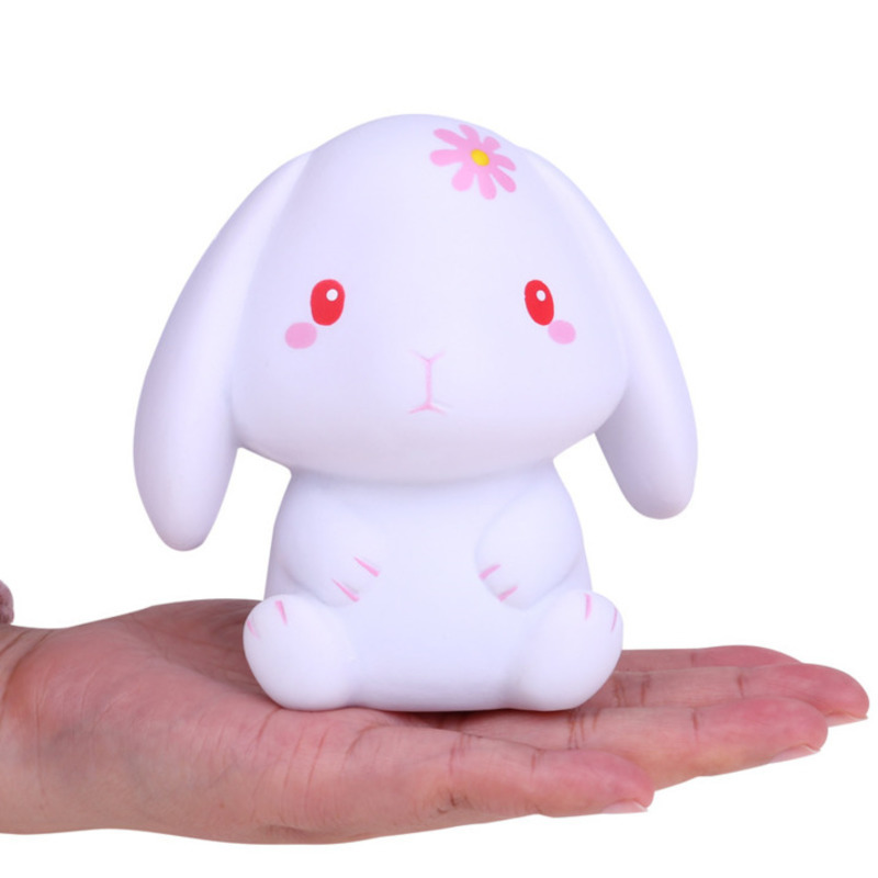 Kawaii Rabbit Squishy Slow Rising Cream Squeeze Scented Stress Relief Toys For Children Soft Squishies Creative Funny Kids Gift