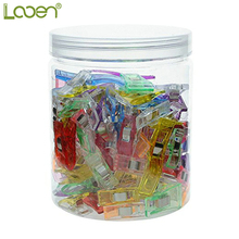 3 Size 100pcs Looen Plastic Wonder Sewing Clips Clamps Holder Fabric Cloth Patchwork Quilting clips Crochet Tools