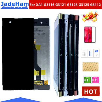 5.0' Original Touch Screen For SONY Xperia XA1 XA 1 G3116 G3121 G3123 G3125 G3112 LCD Display Digitizer Assembly LCD With frame аксессуар защитное стекло sony xperia xa1 g3121 g3123 g3125 svekla 3d black frame zs svsog3121 3dbl